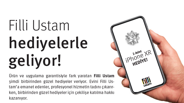 Filli Boya iPhone XR Çekilişi