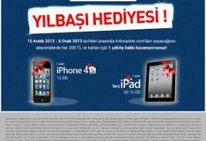 iPhone ve iPad hediye