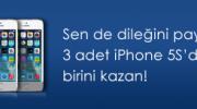 Aris Pırlanta'dan 3 Kişiye iPhone 5S Hediye!