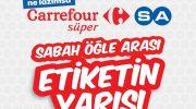 Carrefour etiketin yarısı kampanyası (16-29 Kasım 2017)