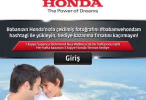 Honda, Babalar Günü Kampanyası