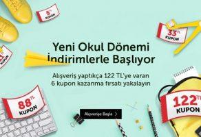 N11 kampanyaları ile okul malzemeleri indirimi
