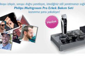 Philips'den Erkek Bakım Seti Kazanma Şansı