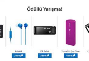 Sony'den 5 Farklı Ürün Hediye