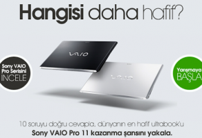 Sony'den VAIO Pro 11 Kampanyası