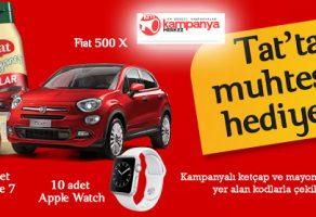 TAT 1 Kişiye Fiat 500 X, 5 Kişiye iPhone 7, 10 Kişiye Apple Watch