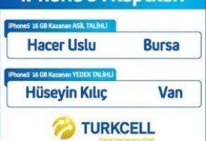 Turkcell Wap ile iPhone 5 Kazanan Talihli