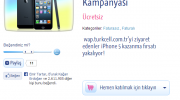 Turkcell Wap iPhone 5 Kazandırıyor
