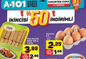 A101 1-7 Temmuz 2 Al 1 Öde kampanyalı ürünler kataloğu