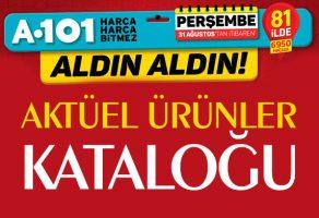 A101 31 Ağustos Perşembe Fırsat Ürünleri Kataloğu Yayınlandı