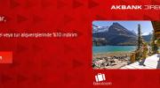 Akbank, Bavul.com'da %10 İndirim Sağlıyor