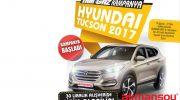 Akmansoy Marketlerden 2017 Model Hyundai Tucson Jip Çekilişi Kampanyası