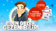 AnadoluJet Bilen Gezer, Gezen Bilir Yarışması
