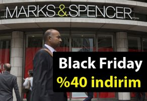 Marks & Spencer Black Friday %40 indirim kampanyası