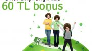 Okul alışverişlerinizden 60 TL Bonus kazanın!