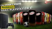 Calve'den 1 Kişiye Sony PlayStation 4!