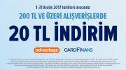 Trendyol Cardfinans kampanyası: 20 TL indirim