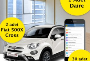 Sahibinden.com'dan 1 Daire, 2 Fiat 500X Cross ve 30 iPhone 7 çekilişi