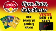 Patos-Cipso-Chips ile 30 kişiye Vestel TV çekilişi