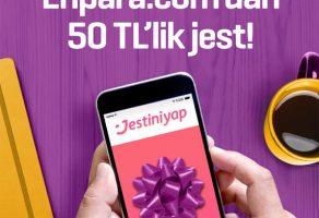 Enpara.com'dan kampanya: 50 TL'lik jest