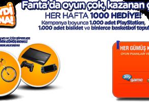 Fanta'dan Müthiş Kampanya
