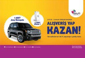 Forum Kapadokya AVM Jeep Renegade ve iPhone7 çekilişi