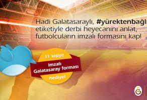 TTNET, Galatasaray Forması (İmzalı) Hediye Ediyor