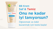 Garnier'den BB Krem Saf&Temiz Hediye