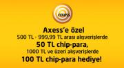 Gittigidiyor, Axess'e Özel Chip-Para Kampanyası