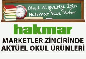 Hakmar 7 Eylül Perşembe indirimli okul ürünleri kataloğu