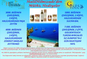 Halil Hilmizade'den Müthiş Hediyeler !
