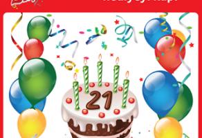 Kipa 21.Yılını Hediyelerle Kutluyor!