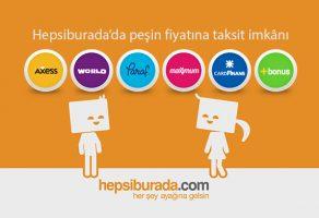 Hepsiburada.com peşin fiyatına 9 taksitli banka kampanyaları başladı