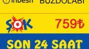 Şok Market indirimli buzdolabı için son saatler