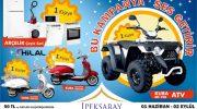 ATV motor ve Arçelik Çeyiz Seti Çekilişi