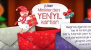 Joker, Miniklerden Yeni Yıl Kartı Kampanyası