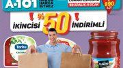 A101 indirimli ürünlerinde 2. ürün yüzde 50 daha ucuz