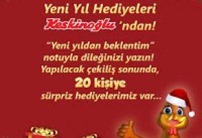 """Keskinoğlu """"Yeni Yıldan Beklentim"""" Facebook Kampanyası"""