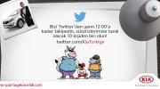 Kia'yı Twitter'da Takip Et, Kazan!