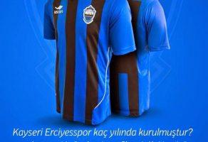 Lescon'dan Kayseri Erciyesspor Forması Hediye