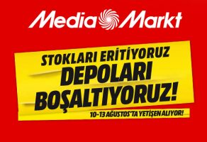 Mediamarkt 10-13 Ağustos indirim kampanyasında yetişen alıyor