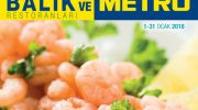 Metro marketleri aktüel ürün broşürleri