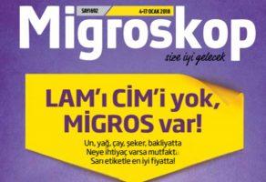 Migros 04 – 17 Ocak 2018 Kampanya Katalogları