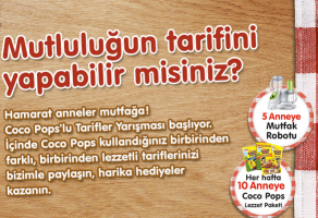 Coco Pops Mutluluğun Tarifi Kampanyası