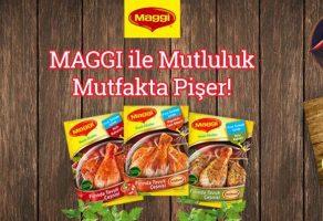 Maggi'den 'Mutluluk Mutfakta Pişer' Kampanyası