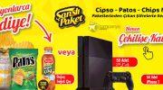 Şanslı Paket'ten 50 Adet PS4 + 50 Adet iPhone 7 ve Milyonlarca Soğuk Çay!