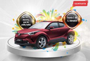 Piazza AVM'de Toyota Otomobil Çekilişi 2018