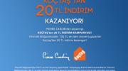 Pierre Cardin, Koçtaş 20 TL İndirim Kampanyası