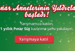 Pınar'dan Annelerinin Yıldızları Yarışması