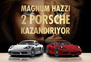 Magnum Porsche çekiliş sonuçları 2017 – Kim kazandı